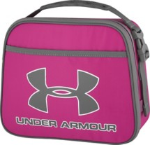 Under Armour Grey with Pink Lunch Cooler