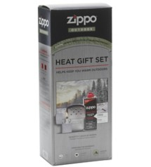 Zippo Refillable Chrome Hand Warmer Gift Set