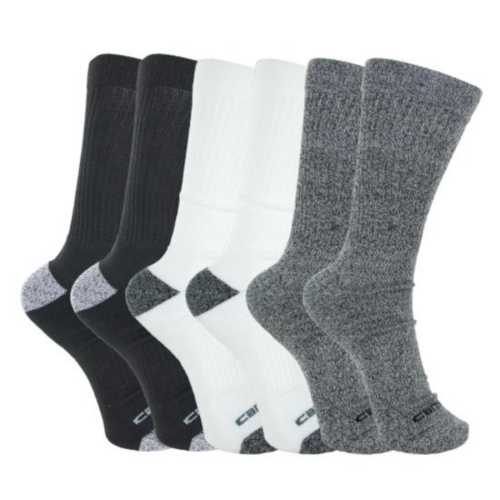 Men's Carhartt All Season Crew Sock 6 Pack