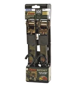 Highland Camo Ratchet 2 Pack Strap