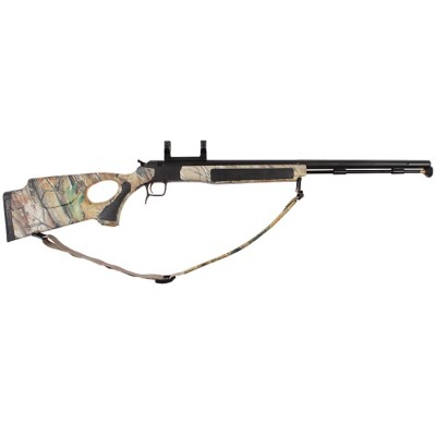 CVA Accura V2 Nitride Stainless Steel Camo Thumbhole Dead-On Mount Muzzleloader