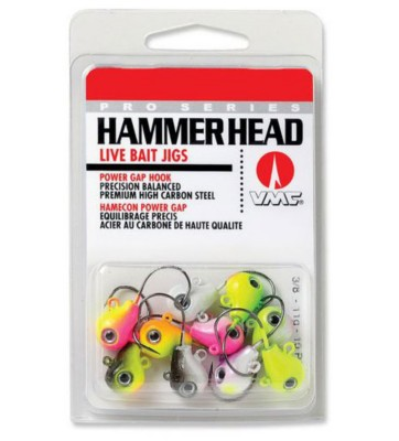 VMC Assortment Pack Hammer Head Jig