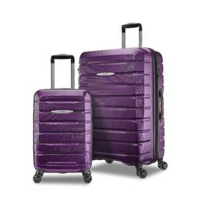 Samsonite Hard Tech Purple Small Luggage