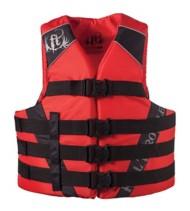 Adult Full Throttle Nylon Life Vest