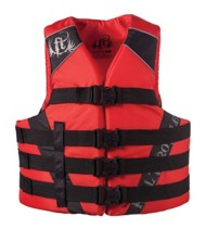 Adult Full Throttle Nylon Life Vest