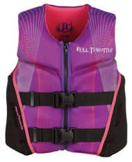 Youth Girls' Full Throttle Rapid Dry Flex Life Vest