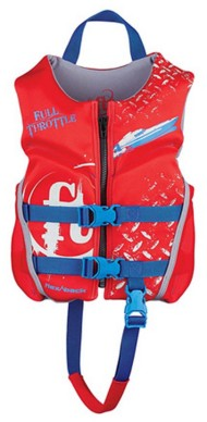 Youth Boys' Full Throttle Children's Dry Flex Life Vest