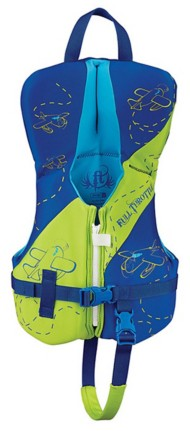 Infant Full Throttle Hinged Rapid-Dry Flex-Back Vest