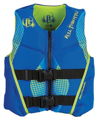 Youth Boys' Full Throttle Rapid Dry Flex Life Vest