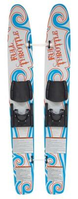 Full Throttle Beginner Trainer Water Skis
