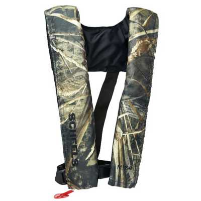 Scheels Outfitters M-24 Inflatable Life Vest Max 5 Camo