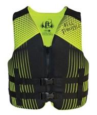 Youth Boys' Full Throttle Teen Rapid Dry Life Vest