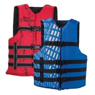 Full Throttle Adult Universal Life Vest 4-Pack