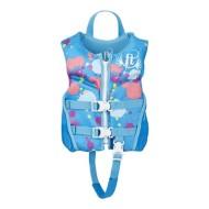 Youth Girls' Full Throttle Child Hinged Rapid Dry Flex Back Life Vest