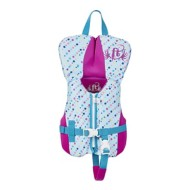 Infant Girls' Full Throttle Hinged Rapid Dry Flex Back Life Vest