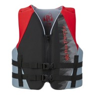 Youth Boys' Full Throttle Rapid Dry Life Vest