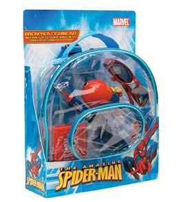 Shakespeare Spiderman Backpack Fishing Kit' data-lgimg='{