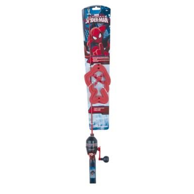 Shakespeare Spiderman Lighted Fishing Pole Kit