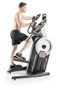 ProForm CardioHIIT Pro Elliptical + Stepper