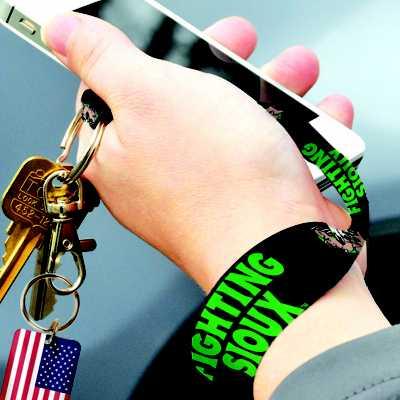 Wincraft North Dakota Fighting Sioux 8 Inch Keychain