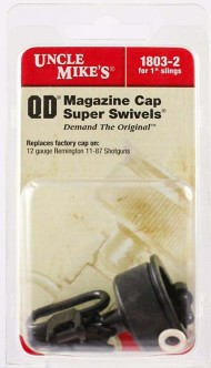 Uncle Mike's Remington 12 Gauge Model 11-87 Replacement Magazine Cap with Swivel Base