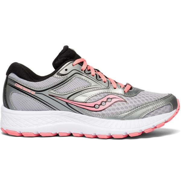 ... Women s Saucony Cohesion 12 Running Shoes Tap to Zoom  Silver Pink aa3086d8c