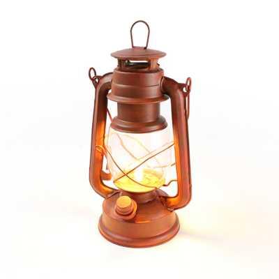 Nebo Old Red LED Lantern