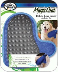Four Paws Magic Coat Deluxe Love with Tender Tips Dog Glove