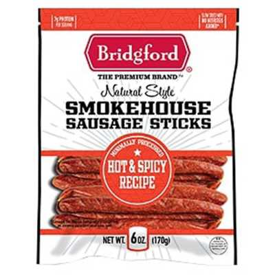 Bridgeford Natrual Syle Smokehouse Sausage Sticks