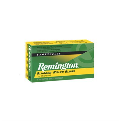 Remington Slugger 12ga 2.75 1oz Slug 5/bx