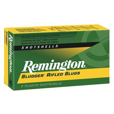 """Remington Slugger 12ga 3"""" 1oz Slug 5/bx"""