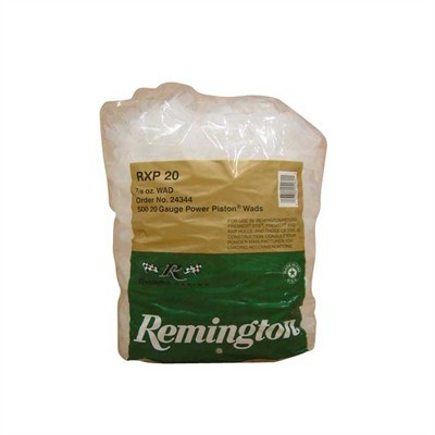 Remington RXP20 20 Gauge Shotshell Wads