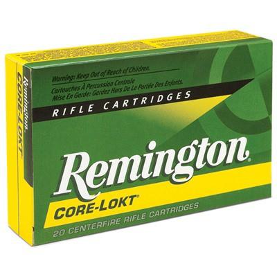 Remington Core-Lokt 6mm Rem 100gr PSP 20/bx
