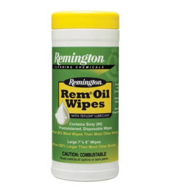 Remington Arms 7-Inch Pop-Up Oil Wipes