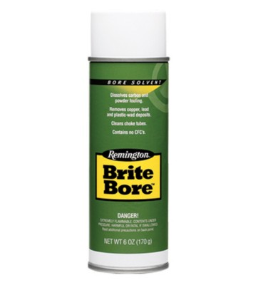 Remington Brite Bore Solvent and Cleaner