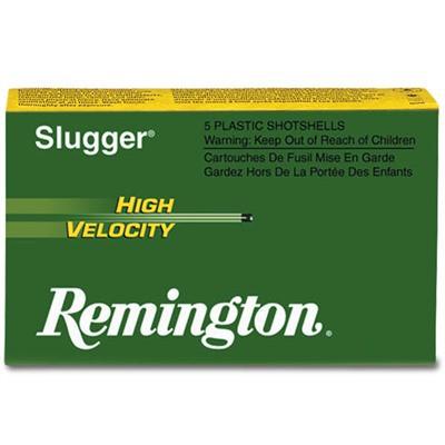 "Remington Slugger HV 20ga 2.75"" 1/2 oz Slug 5/bx"