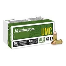 Remington UMC Value Pack 9mm 115gr MC 100/bx