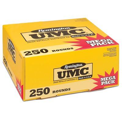 Remington UMC Mega Pack 40 S&W 165gr MC 250/bx