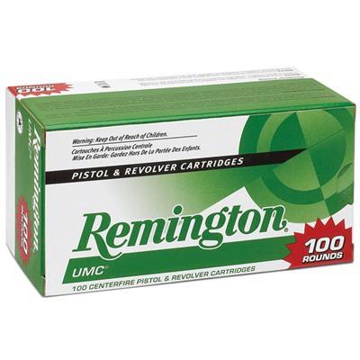 Remington UMC Value Pack 38 Spl +P 125gr 100/bx