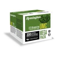 Remington UMC Mega Pack 223 Rem 55gr MC 200/bx