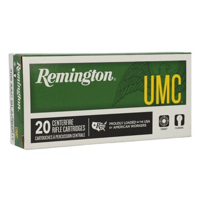Remington UMC 300 BLK 220gr OTFB 20/bx' data-lgimg='{