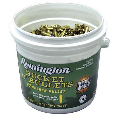 Remington Bucket O' Bullets 22 Golden Bullet 36gr HP 1400 rd