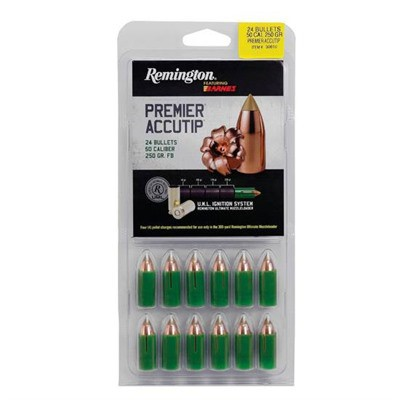 Remington Premier AccuTip 250 Grain 50 Caliber Bullets