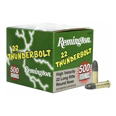 Rem Thunderbolt 22lr HV TC SB 500/box