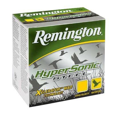 "Remington Hypersonic Steel 12ga 3"" 1-1/4oz #2 25/bx"
