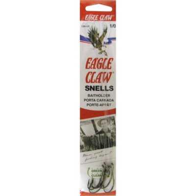 Eagle Claw Classic Snelled Baitholder Hooks