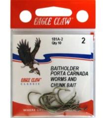 Eagle Claw Classic Bait Holder Hooks