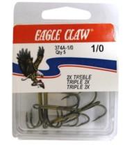 Eagle Claw Classic Treble Hooks