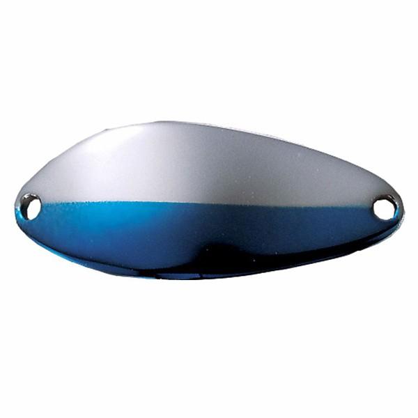 Nickel/Neon Blue