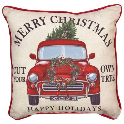 Raz Imports Merry Christms Pillow